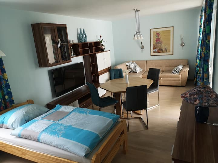 Gemütliche 2 Zimmerwohnung in Messenähe