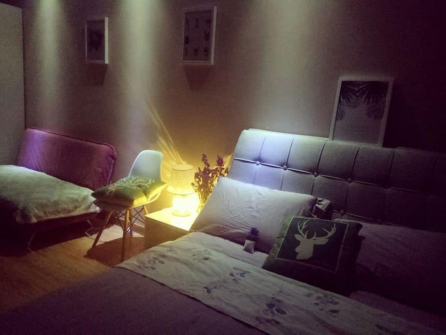 夜晚很温馨,我的房是您正确的选择。