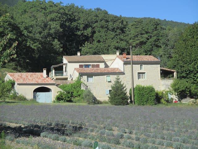 Maison au calme en Drôme Provençale - Le Poët-Laval - Casa