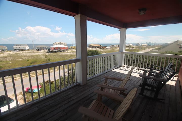 2 BR Dog Friendly Home with Gulf Views! Sleeps 8