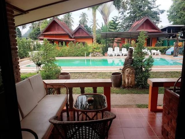 Pool view Aonang