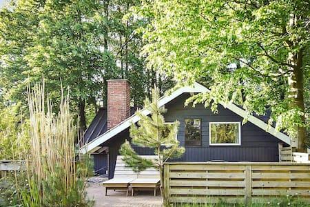 Gemütliches Ferienhaus in Jütland mit Terrasse