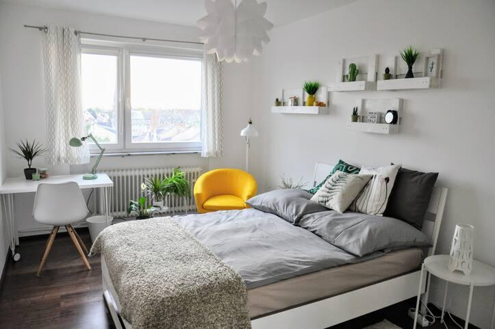 Brand new double room-with breakfast, top floor