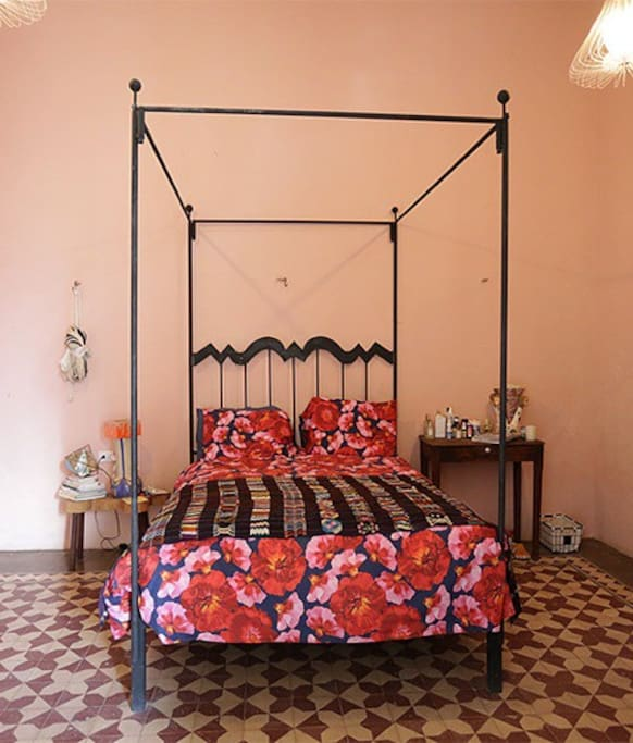 Main bedroom with air-conditioning