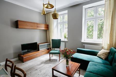 Apartament Zielony DE LUX dla 4os Chorzów/Katowice