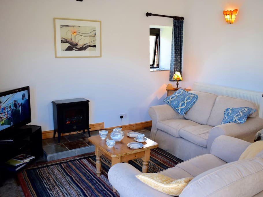 The Lounge Area in Jasmine Cottage