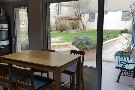 House and large garden in a quiet city center ! - Auxerre