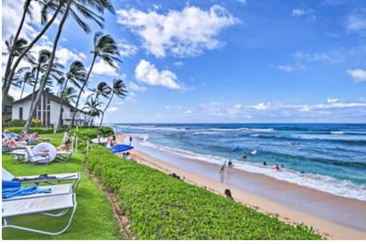 Kiahuna Condo with AC Steps to the beach! #41