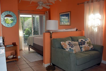 Pelican Cottage -Mins. to the Beach!! Car 4 Rent! - Leeward Settlement - Gjestehus