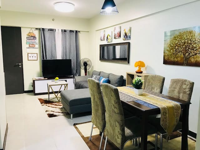 Dining and Living Area..