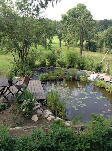 Wohnung mit Terrasse an der Elbe  -  Tiere erlaubt - Coswig - Condomínio