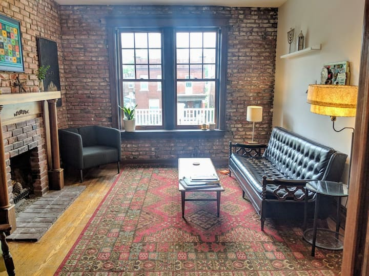 ☀ Sunny Wash U/Delmar Loop—ENTIRE 3 BR FLAT
