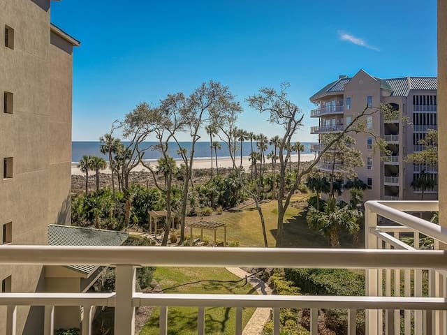 Atlantic Ocean View from 5303 Hampton Place in Palmetto Dunes