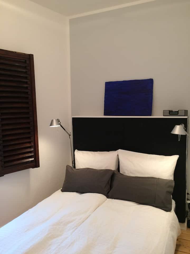 Stylisches 40 qm Appartement/Loft mit Traumgarten