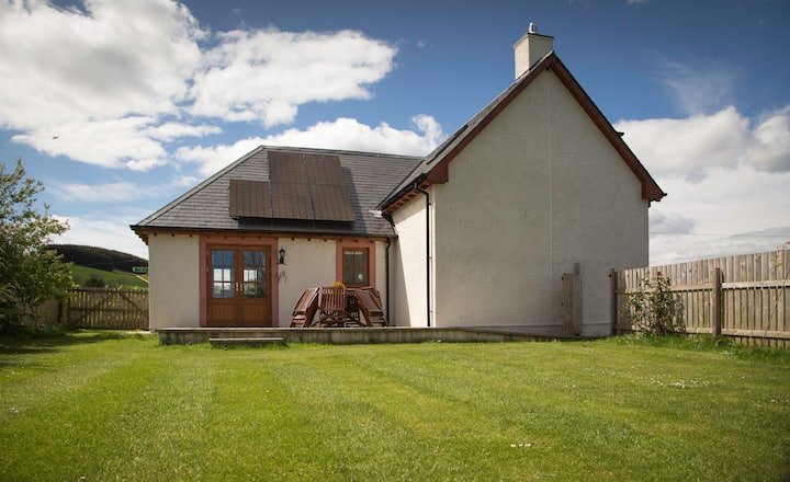 Cosy farmhouse with garden and  shared games barn