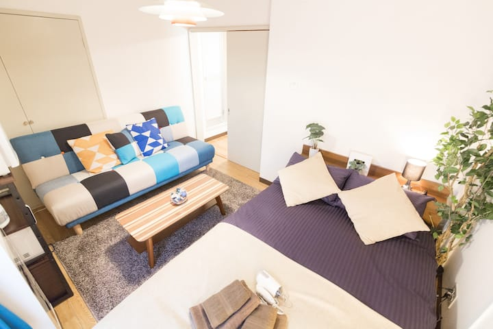 3min walk Sta./4min Shinjuku/Free Pocket WiFi#21