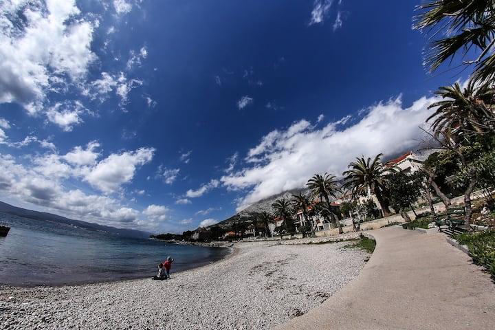 Monumentaal huis Orebic! 100 meter van het strand