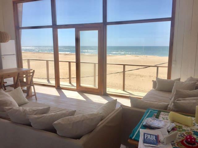 Casa con increíbles vistas sobre la playa!!!
