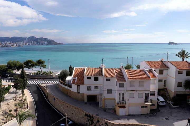 Apto. Benidorm Playa Poniente con vistas  6