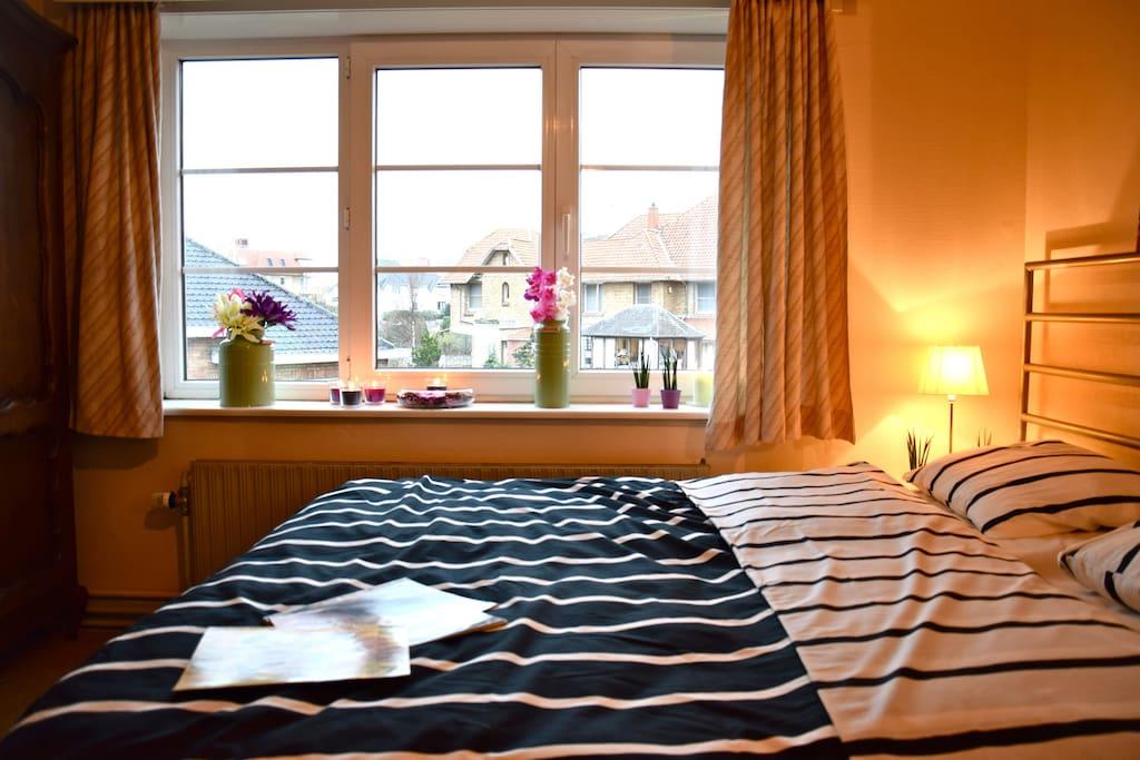 b b la tourelle cr puscule bed breakfasts zur miete in koksijde vlaanderen belgien. Black Bedroom Furniture Sets. Home Design Ideas