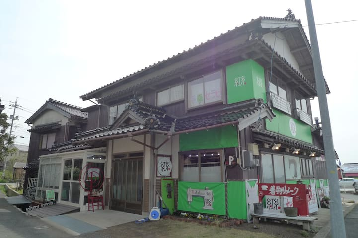 日本海が見える織房ー1