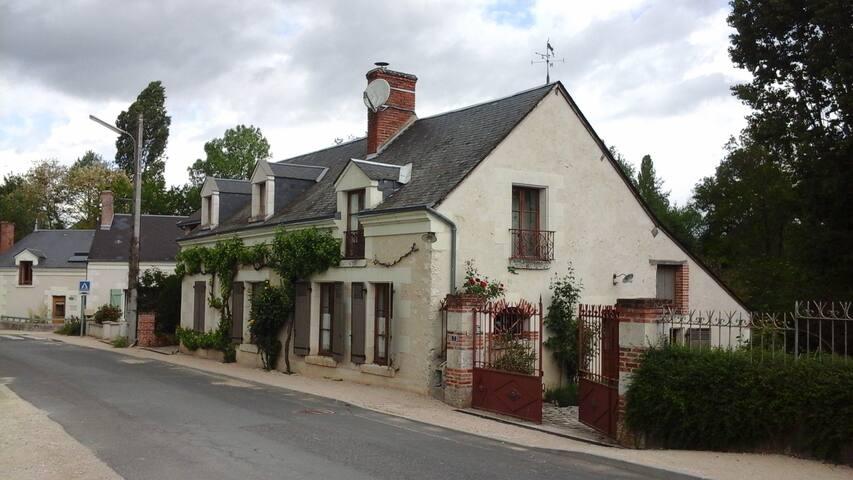 Sur la ŕoute des châteaux de la Loire à vélo