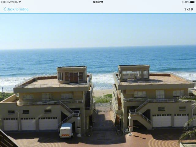 Beach front apartment - La Mercy