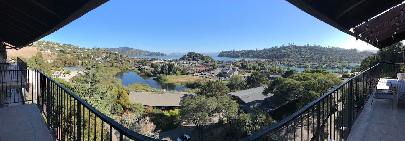 Downtown Tiburon w/ a view