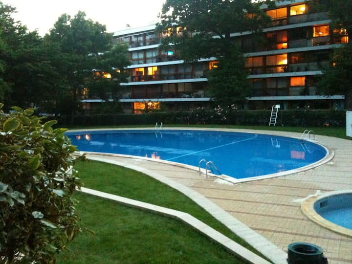 Residence with  Pool, Tennis, Woods
