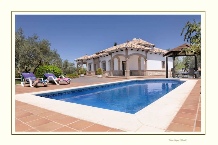 Best luxury villa in Ronda.