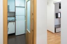 Entrada al apartamento/Entrance to the apartment