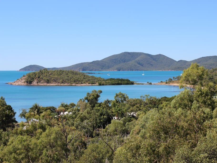 View of the Whitsundays from the balcony
