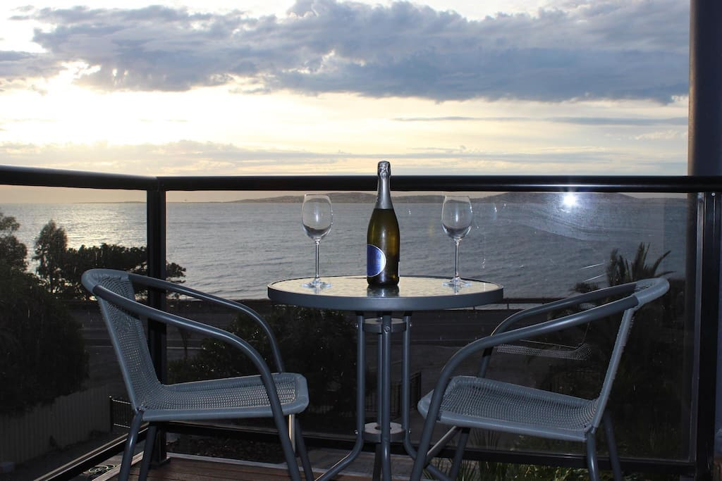 Sit relax enjoy what the home has to offer overlooking the stunning Boston Island views.  **Please note their is traffic noise from the highway in peak times.