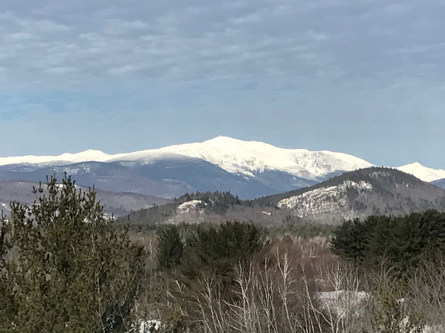 Mt Washington Across the Street at the Scenic Outlook