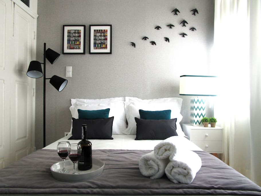 pormenor da cama