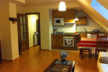 ATICO ABUARDILLADO - Canfranc-Estación - Apartamento