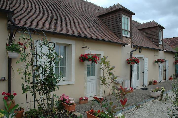 Gîte rural Le Poireuil à Venesmes - Venesmes - Rumah