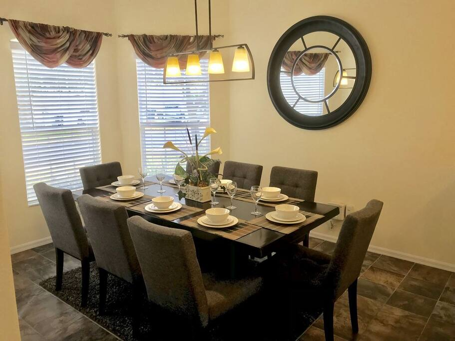 Dining Room Seating for 8