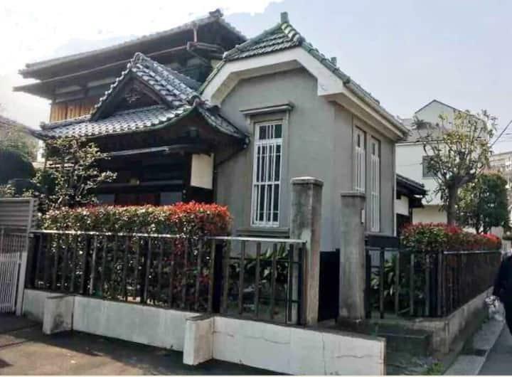 Traditional Japanese residence,10 people,Yokohama.