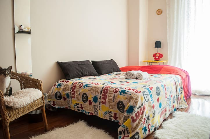 Your room in downtown Athens!