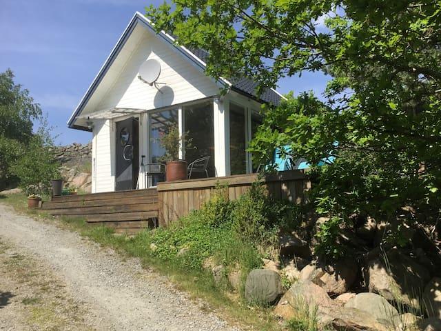 Stuga på Möcklö i Blekinges skärgård
