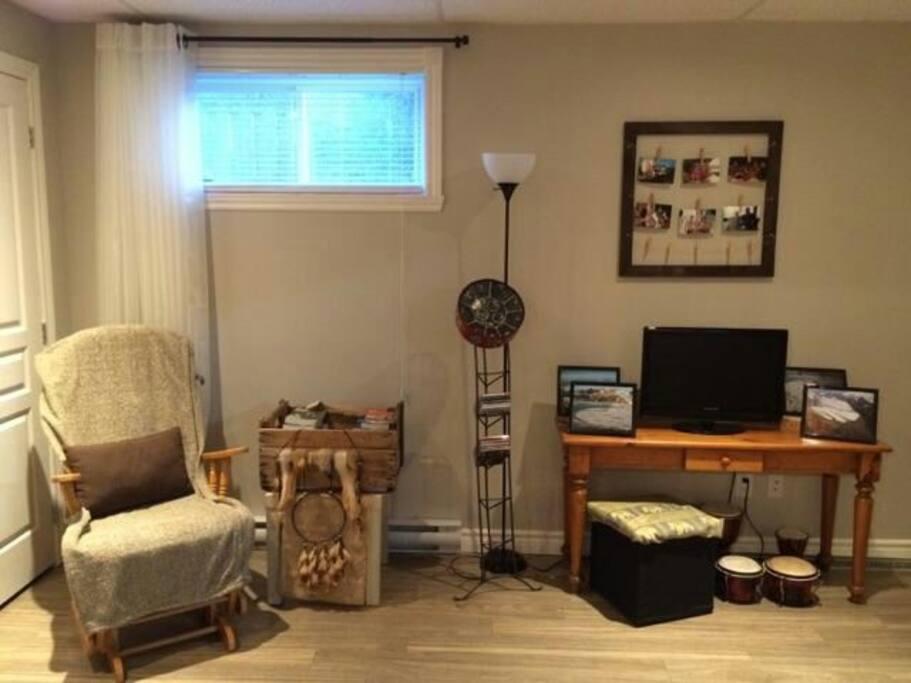 salon privé/private living room