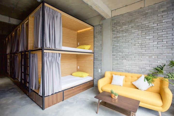 Single Bed in Mixed-Dorm - Next to Han Market