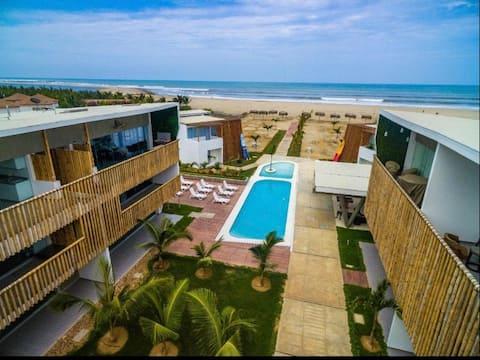 Zorritos, Departamento de Playa - Tumbes. Wifi