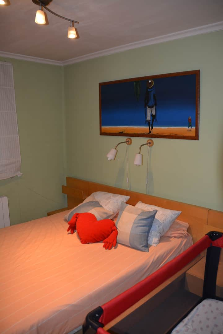 Magnifico apartamento 2 hab con WIFI (VUT47-30)