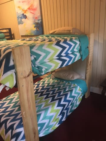 You will be staying in a bunk bed during your stay