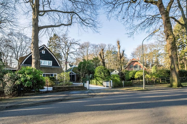 Villa & detached guesthouse near Amsterdam & Beach