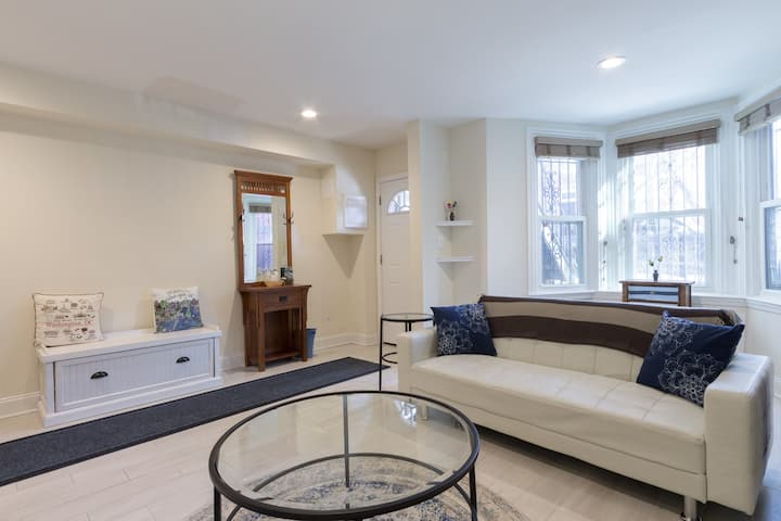 Location! Charming 1BR in hottest  part of DC