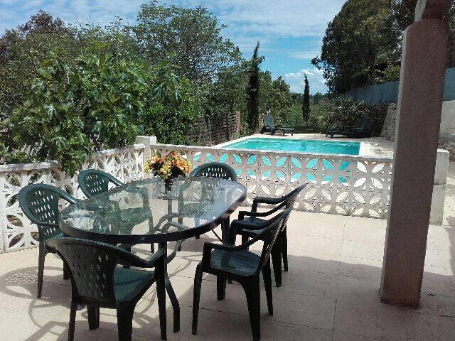 Villa avec piscine, proximité Cévennes et Ardèche