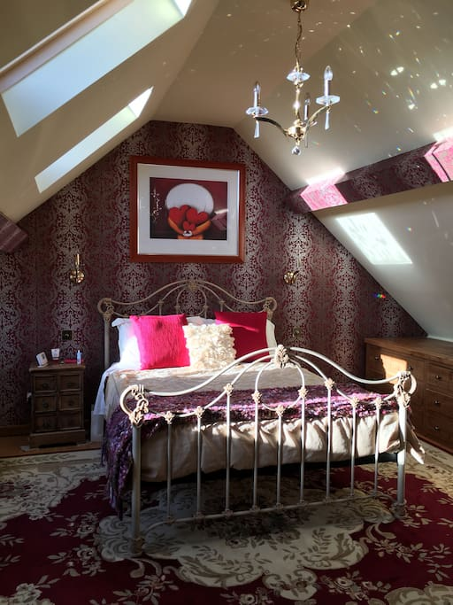 Loft Room with King Size bed